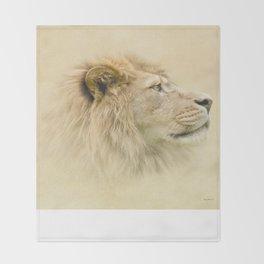 Lion II Throw Blanket