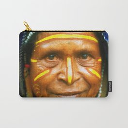 Untouched And Timeless Papua New Guinea: Villager Elder Carry-All Pouch