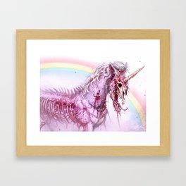 ZOMBICORN Framed Art Print