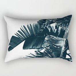 Cyan Palm #1 Rectangular Pillow