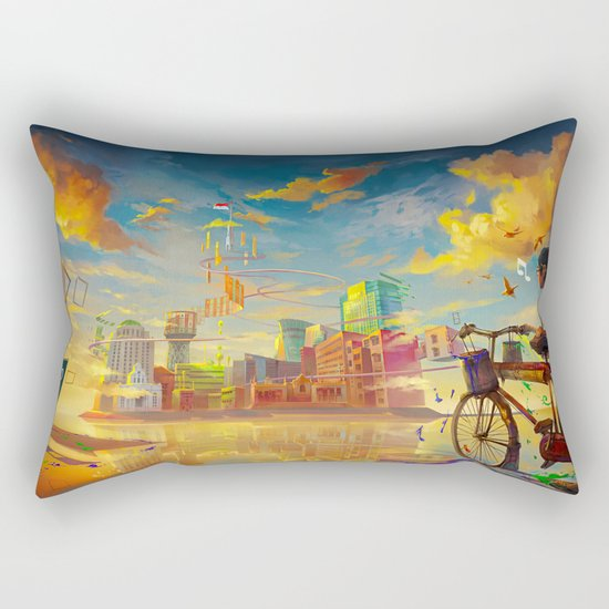 Life Style ! Rectangular Pillow