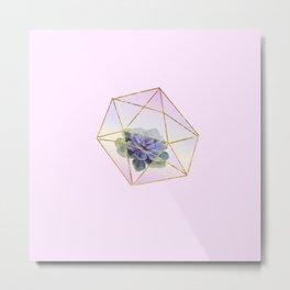 Crystal Dimensions Metal Print