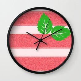 Strawberry Ice Wall Clock