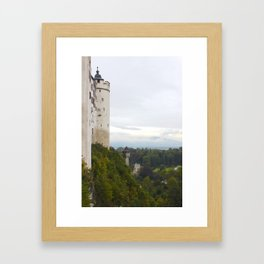 A view from Festung Hohensalzburg II Framed Art Print