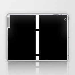 Minimal White 9 Laptop & iPad Skin