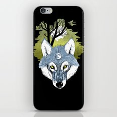 Wolf Phase iPhone Skin