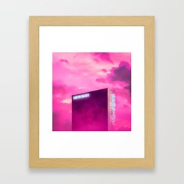 Corporate Height Framed Art Print