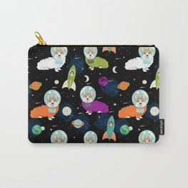 Welsh Corgi outer space cadet space camp rockets astronaut dog breed corgis gifts Carry-All Pouch