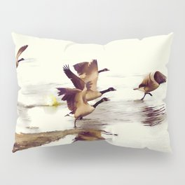 The Take Off - Wild Geese Pillow Sham