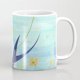Spring Animal And Girl Coffee Mug