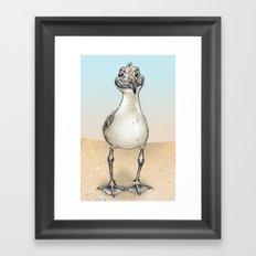 Seagull! Framed Art Print