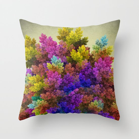 Miracle Tree Throw Pillow