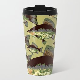 Sun Fish Metal Travel Mug