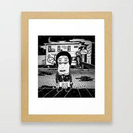 ¨Never leaving¨ Framed Art Print