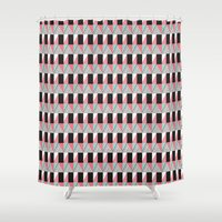 portal Shower Curtains featuring Portal by Mishmash