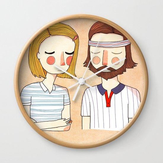 Secretly In Love Wall Clock