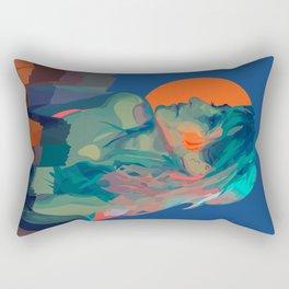 Muse Of The Mountains Rectangular Pillow