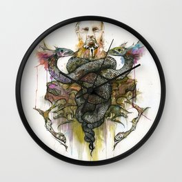 The Antagonist Wall Clock