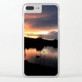 Escondida Lake Clear iPhone Case