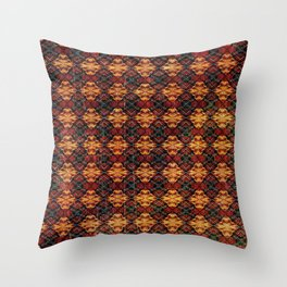 Tribal Shield Throw Pillow