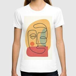 Abstract Face 20 T-shirt