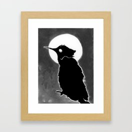 Avian night Framed Art Print