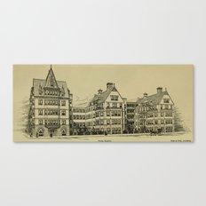 Wesley Hospital 1888 Canvas Print