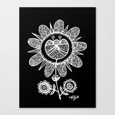 White Flower 116 Canvas Print
