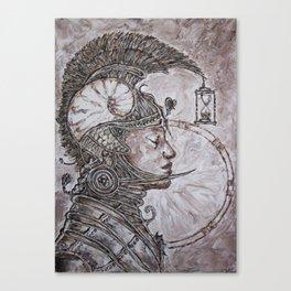 time warrior Canvas Print