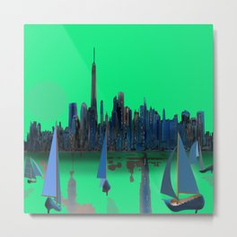 May arriving in New York - shoes stories Metal Print