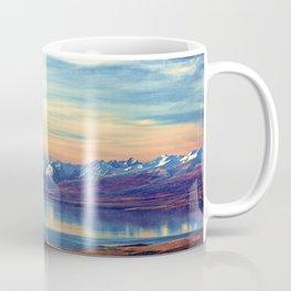 Lake Tekapo New Zealand-Fall Coffee Mug