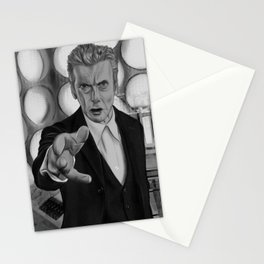 Twelfth Doctor Old Tardis Stationery Cards