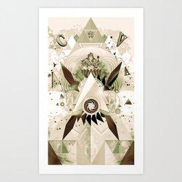 Worship Ganesh Art Print