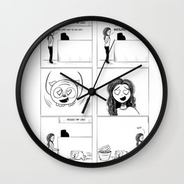 Inkberry Comics: Day Care Wall Clock