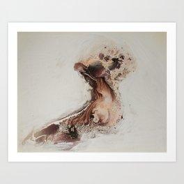Naked Body Art Print