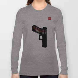 Art not War - Grey Long Sleeve T-shirt