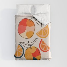 Juicy Citrus Duvet Cover