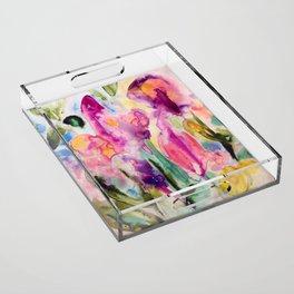 garden fantasy Acrylic Tray