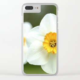 spring_2 Clear iPhone Case
