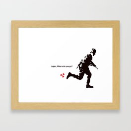 Go Where - 281 Anti Nuke Framed Art Print