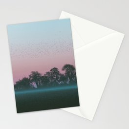Shadow Of The Earth Stationery Cards