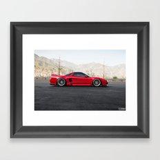Acura NSX Framed Art Print