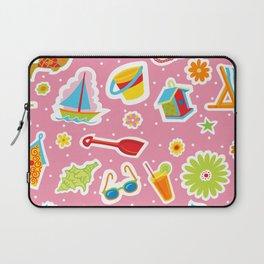 Summer Fun Pink Laptop Sleeve