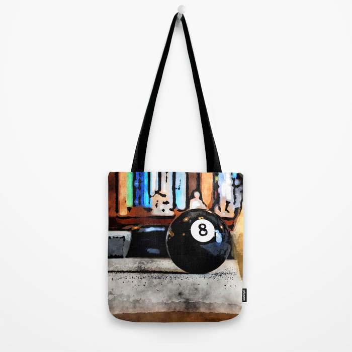 Shooting For The Eight Ball Tote Bag