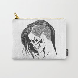 women skull  Carry-All Pouch