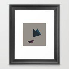 #50 Flying – Geometry Daily Framed Art Print