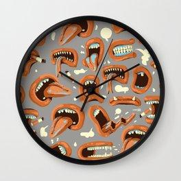 Gossips Wall Clock