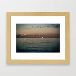Till Dusk Framed Art Print