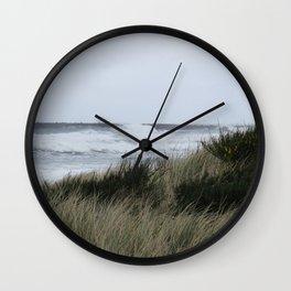 Bastendorff Beach, Oregon Wall Clock