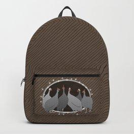 Helmeted Guineafowl Backpack